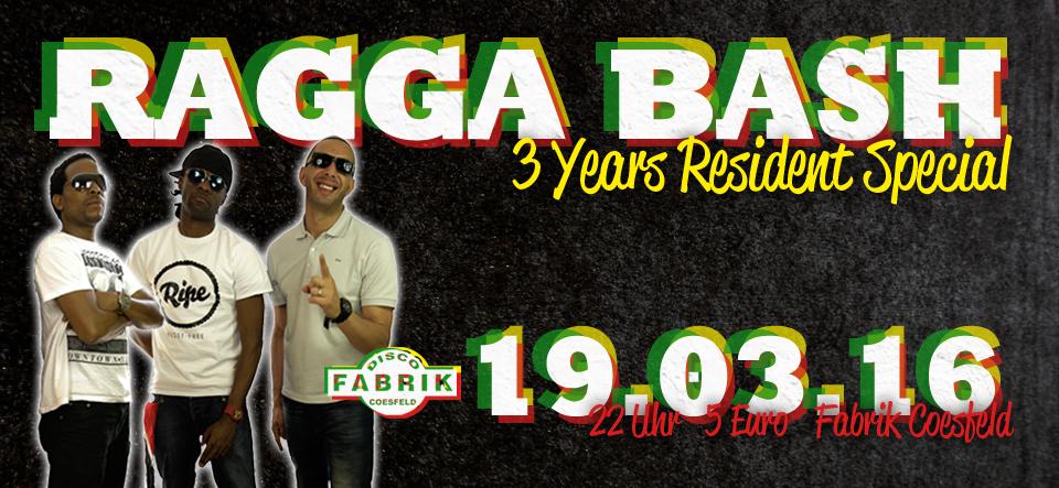 Ragga Bash // Reggae & Dancehall
