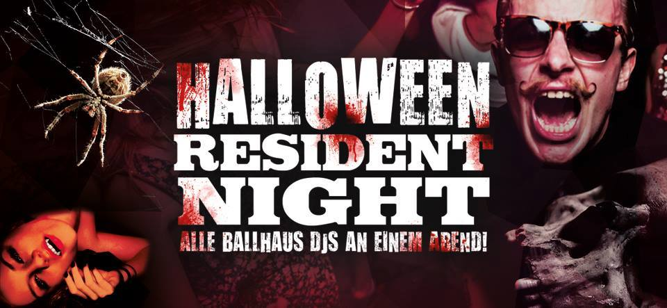 Halloween Resident Night // Party