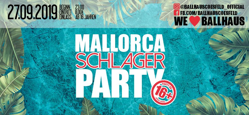 Mallorca Schlager Party • 16+