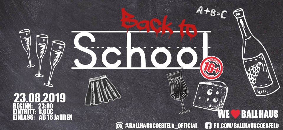 Back to School • 16+