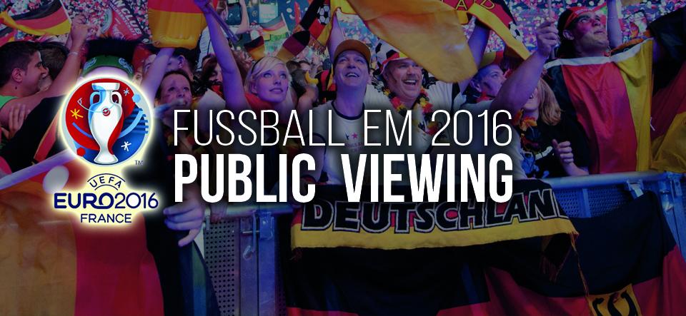 Public Viewing // Fanmeile Central