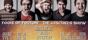 Fools of Fortune • Abschieds-Show