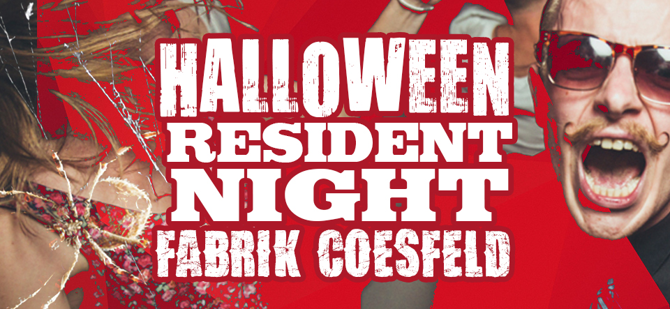 Halloween Resident Night • 2 Areas