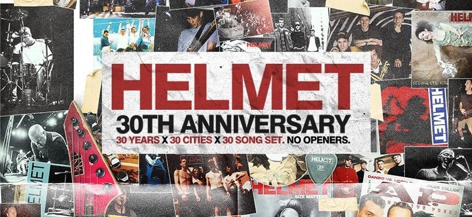 HELMET • 30th Anniversary Tour