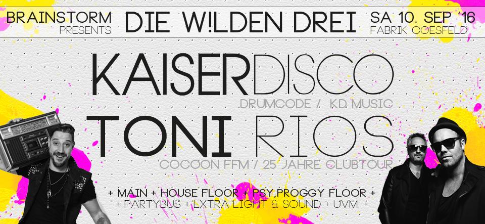 Kaiserdisco & Toni Rios // Techno