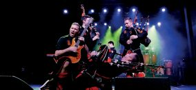 Red Hot Chilli Pipers // Konzert