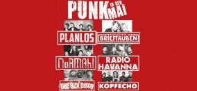KONZERT • Punk in den Mai • Planlos, Tauben, NoRMAhl etc.
