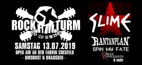 Rock am Turm 2019 • SLIME u.a.