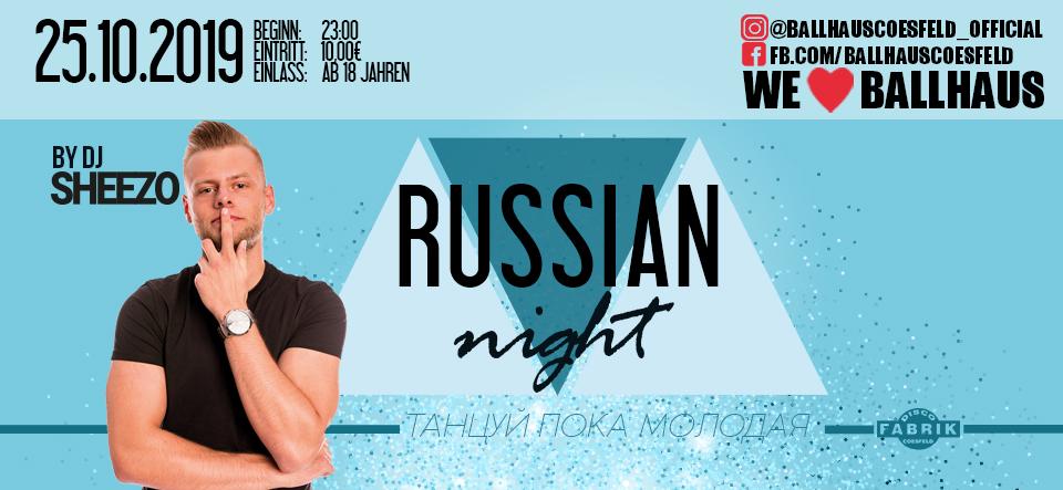 Russian Night • 18+
