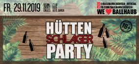 Hütten Schlager Party • 16+