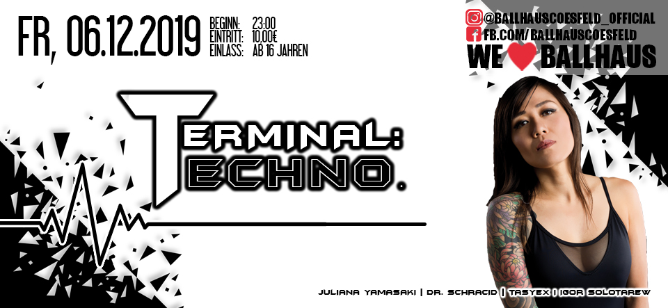 Terminal: Techno • Juliana Yamasaki