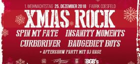 XMAS ROCK • Spin My Fate & Gäste