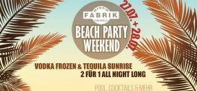 Beach Party Weekend Pt. II • Samstag