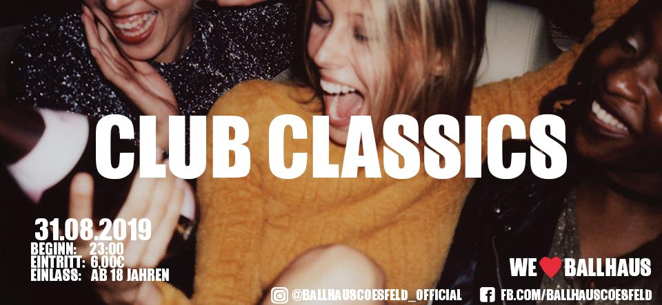 Club Classics • 18+