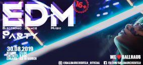 EDM • Electronic Dance Music • 16+
