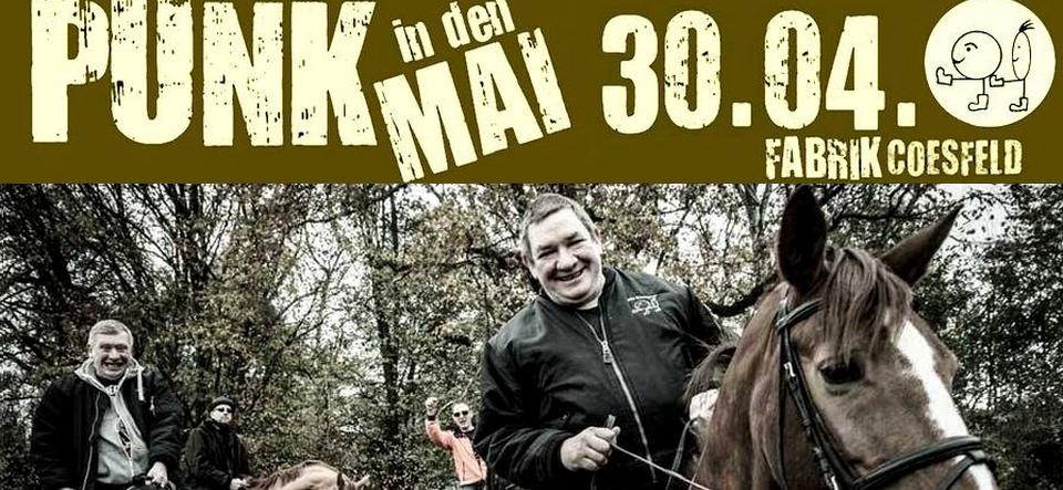 Punk in den Mai • Die Kassierer u.a.