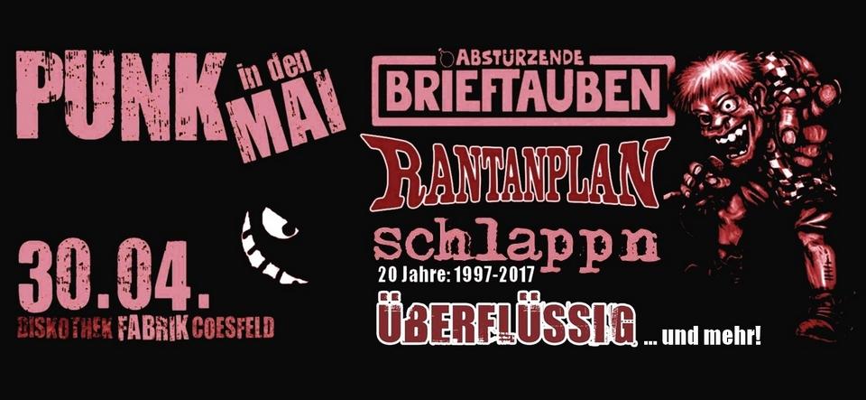 Punk in den Mai Festival // Konzert