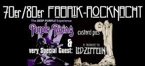 Purple Rising/Custard Pies // Konzert
