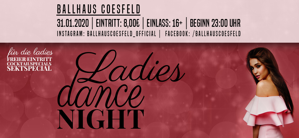 Ladies Dance Night • 16+
