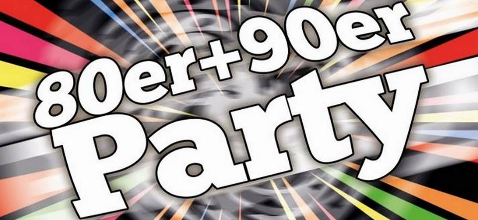 80er+90er Silvester Party