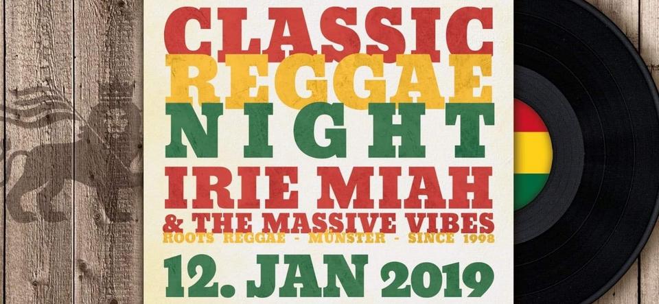 Classic Reggae Night • Irie Miah Live
