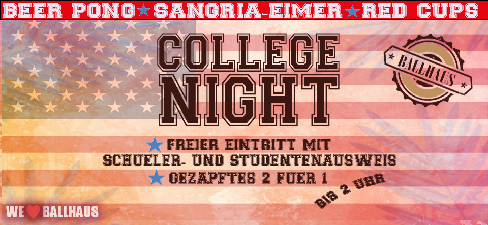 Ballhaus College Night