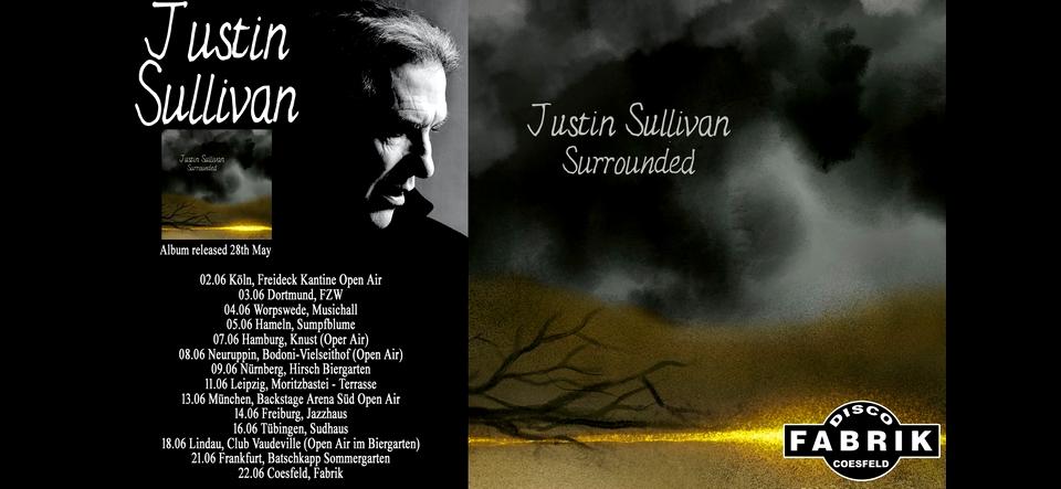 KONZERT • JUSTIN SULLIVAN Solo (New Model Army)