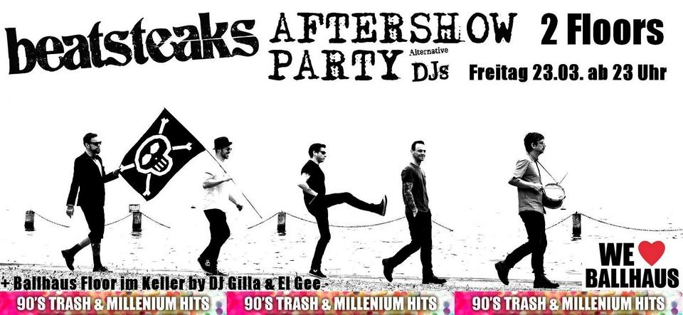 Beatsteaks • Aftershow-Party
